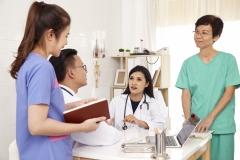 doctor and nurse Medical team